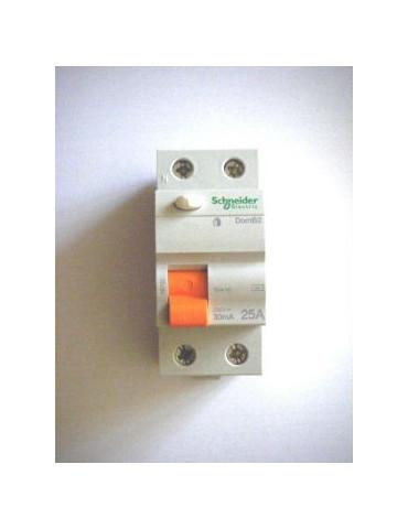 Interrupteur diff'rentiel ID CLIC PH+N  25A
