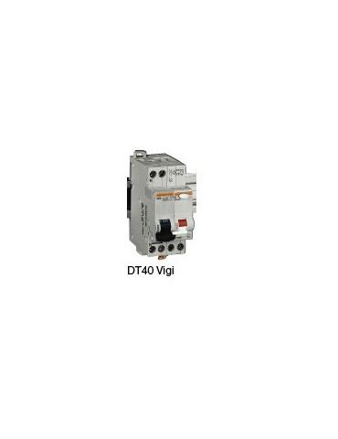 Disjoncteur différentiel DT40 1P+N  10A  30mA