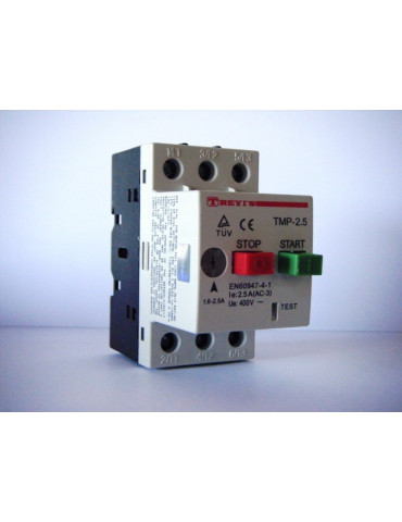 Disjoncteur magnéto-thermique pour moteur gv2 me04 plage de 0.40 à 0.63a ref: gv2me04