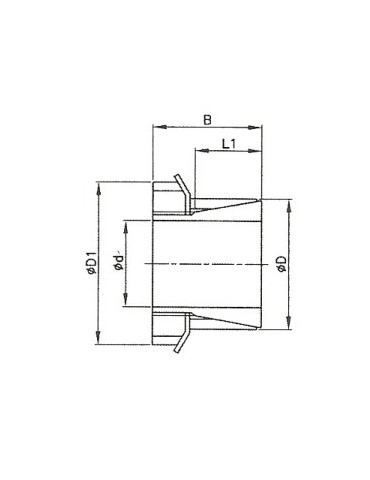 Manchon conique A85 réf: H319
