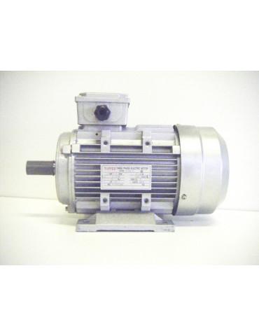 Moteur électrique triphasé alu 400v 50hz  ref : MS80L22P1.1B3