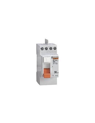 Interrupteur différentiel ID CLIC PH+N  25A
