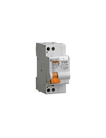 Disjoncteur différentiel DECLIC 1P+N  10A  30mA