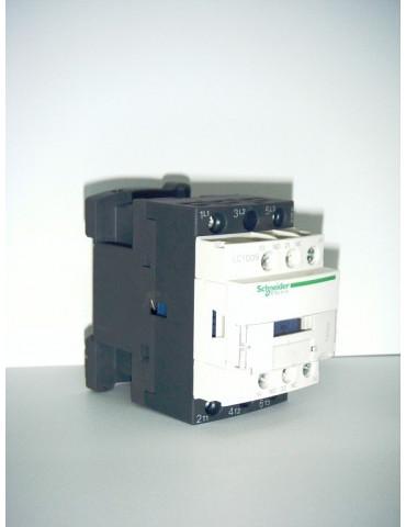 Contacteur tripolaire de puissance lc1 d12f7 bobine 110v 50hz ref: lc1d12f7