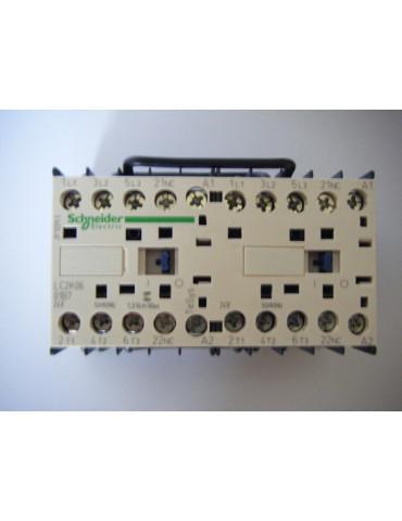 Contacteur inverseur tripolaire de puissance lc2k0601b7 bobine 24v ac  ref: lc2k0601b7