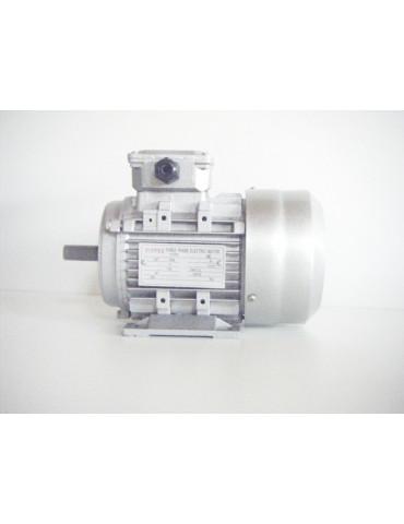 Moteur électrique triphasé alu 400v 0.75KW 50hz  ref : MS8024P0.75B3