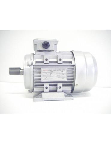 Moteur électrique triphasé alu 400v 1.1KW 4P 50hz  ref : MS90S4P1.1B3