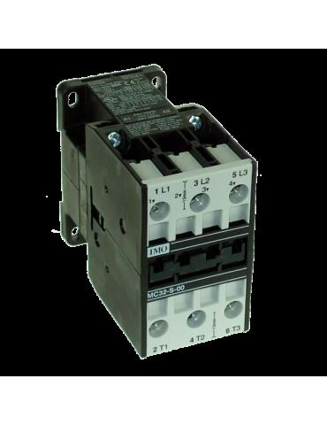 Contacteur tripolaire de puissance  bobine 24v 50hz ref: MC32SS0024V