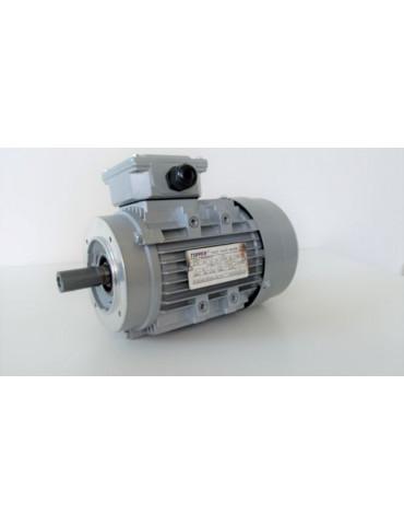 Moteur électrique triphasé alu 400v 0.75KW 4P 50hz  ref : MS8024P0.75B14