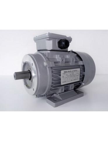 Moteur électrique triphasé alu 400v 0.37KW 2P 50hz  ref : MS7112P0.37B3