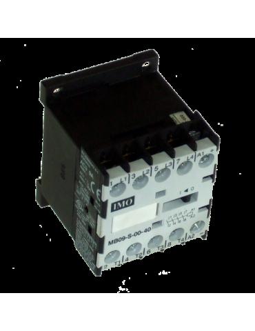 Contacteur tripolaire de puissance 9A 1 NF bobine 24v 50hz ref: MB09S0124AC