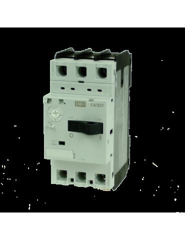 Disjoncteur magnéto-thermique pour moteur plage de 18 à 26A IMO ref: C4/32T-26