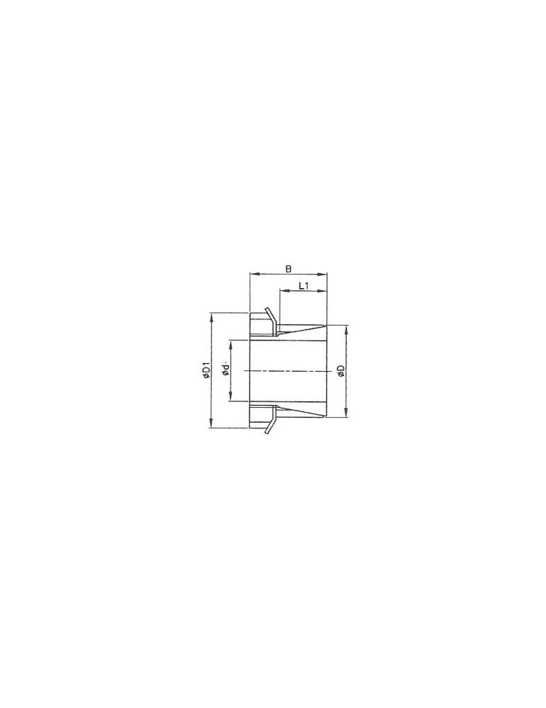 Manchon conique bk26 25*35 réf: mebk262535