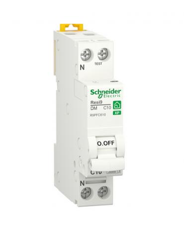 Disjoncteur Schneider RESI9  ph+n 6A courbe C ref : R9PFC606
