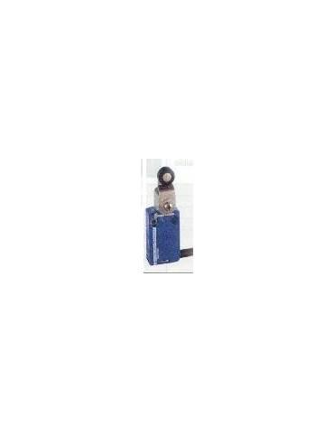 Interrupteur fin de course miniature métallique, commande à levier à galet  ref:xcmd2115l1