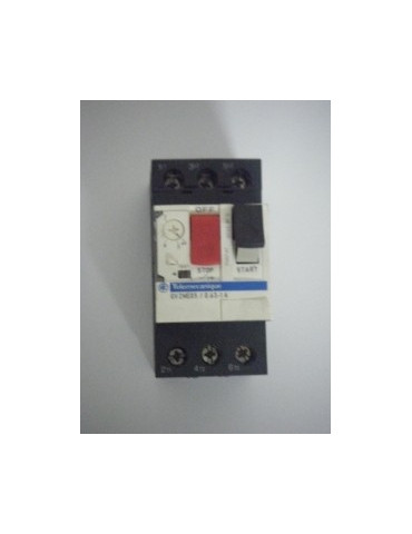 Disjoncteur magnéto-thermique pour moteur gv2 me07 plage de 1.6 à 2.5a ref: gv2me07