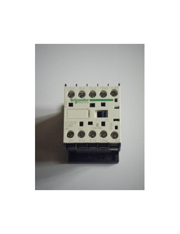 Contacteur tripolaire de puissance ac1 2o + 2f   lp1 k09008bd bobine 24v dc ref: lp1k09008bd